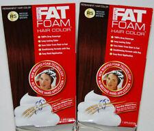 Samy Fat Foam Permanent Hair Color Medium Reddish Brown R5 Lot of 2 NEW