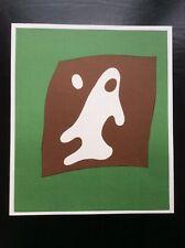Jean (Hans) Arp, Yeux et Nez, Orig. Farblithographie, Artz-Winter 312, Bestzusta