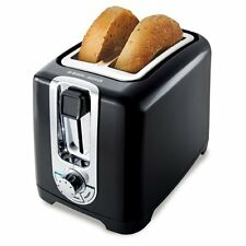 Black & Decker Tr1256B 850-Watt 2-Slice Toaster with Bagel Function