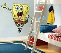 SPONGEBOB X LARGE GIANT VINYL WALL STICKER DECALS CHILDREN 46