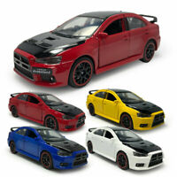 Mitsubishi Lancer EVO X 1/32 Scale Model Car Metal Diecast Gift Toy Vehicle Kids