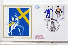 SUEDE FRANCE enveloppe 1er JOUR cover FDC X994