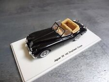 2 Jaguar XK140 1954 - Drophead + Coupe - Spark S2130 + Spark S2113 - 1/43