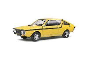 1/18 Solido Renault 17 Mki Yellow Dakar 1973 S1803704 Modello IN Scala