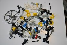 Vintage Lot of LEGO Minifigures Accessories Radio Tools Minifig Horn Cups