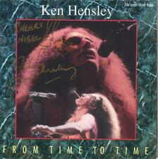 CD - Ken Hensley From Time To Time 1994 Uriah Heep Autographed by Ken - VG cond.