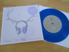 "BAZAN AND DEERHOOF limited 7"" BLUE VINYL 2000 MADE pedro the lion"