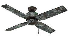 Lodge hunter bronze ceiling fans for sale ebay large 52 true timber bronze camo outdoor ceiling fan cabin forest woods lodge aloadofball Gallery