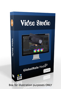 Video studio film movie editor editing software program for windows and macosx