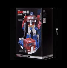 New Deformation toys MPP-10H transparent alloy car robot model boy toys