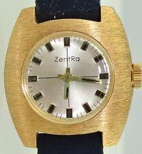 ZentRa Damen Armbanduhr - vergoldet / Handaufzug