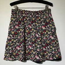 Small - LOFT Womans Floral Smocked Waist Skirt