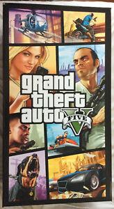 Grand Theft Auto V Display RARE - PS4 Sony GTA 2014 Rockstar Games HARD TO FIND