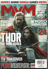 MyM UK No 19 October 2013 THOR Dark World Pussy Galore Kyoto Anime Manga Games