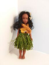 African American Hula Dancer Doll 7' 1/2 tall