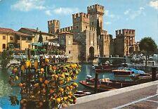 Bt0156 Lago di garda sirmione darsena e castello Italy