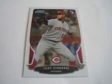 2013 BOWMAN CHROME BASEBALL TONY CINGRANI CARD #189***CINCINNATI REDS***