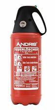 Auto Feuerlöscher 2kg ABC Pulver mit Kappe KFZ Halter Prüfnachweis orig. ANDRIS®