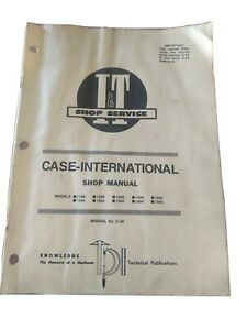 I & T Case-International Shop Manual C-36