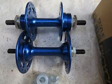 SUZUE HUBS NOS 36 HOLE BMX BLUE CRUISER FREESTYLE BICYCLE VINTAGE