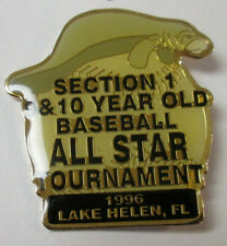 Little League Baseball Pin 1996 Lake Helen Florida 1C