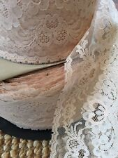 vintage thick  lace (never used, new on spool) selling per metre