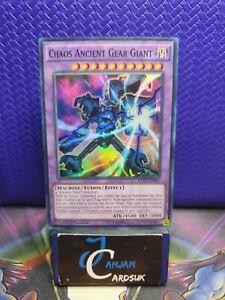 Chaos Ancient Gear Giant RATE-EN041 1st Edition LP