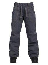 BURTON Women's VEAZIE Snow Pants - Denim - Medium - NWT