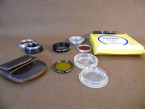 Tiffen parts lot step down 52mm series 5 adapter and retaining ring 31.5 & 32mm