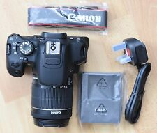 Canon EOS 700D 18.0MP Cámara digital-Negra (Kit con EF-S 18-55mm Lente IS STM)