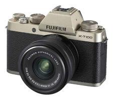 Fujifilm X-T100 24.2MP Digital Camera - Champagne Gold (Kit with XC15-45mm...
