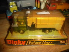 DINKY TOYS MODEL No.978 BEDFORD REFUSE BIN LORRY WAGON MINT SEALED BOX