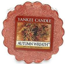 Yankee Candle Wax Melt Tart  Autumn Wreath Rare Retired And Hard To Find NEW