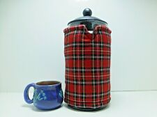 Royal Stewart Mini Tartan 8 cup Cafetiere Cover SKU1080460