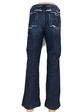 Hudson Premium Denim Men's Distressed Straight Leg Jeans 100% Cotton Size 36 x31