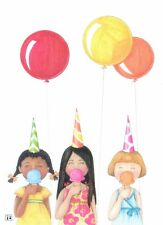 Mary Engelbreit-Treat Yourself Ice Cream Balloons-Happy Birthday Card-New!