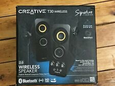 New Creative - 51MF1655AA004 -T30 Bluetooth Wireless Speaker System-BARGAIN £180