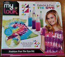 Crazart: Fashion Fun Tie Die Kit (6+) - New - slight dent in packaging