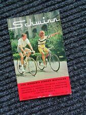 SCHWINN 1964 Bicycle Sales Catalog/Brochure*Stingray-Paramount-Cycle Truck