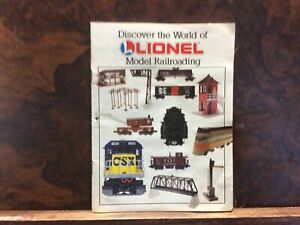 Discover The World Of Lionel Model Railroading 1983