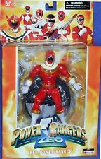 "Mighty Morphin Power Rangers 6.5"" Red Zeo Power Ranger New Factory Sealed 2006"