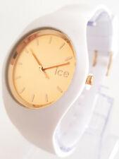 Ice-Watch Chic White Gold Unisex ICE.CC.WGD.U.S.15 Medium Damenuhr Uhr neu 187