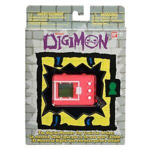 NEW Bandai Digimon Digivice 20th Anniversary Tamagotchi Digital Pet NEON RED