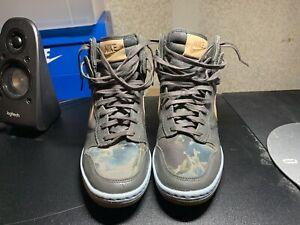 Nike Women's Dunk Sky High Liberty of London Heel Sneakers 540859-001 Size 6.5