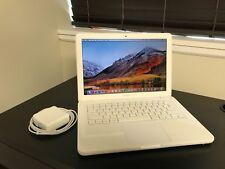 """Apple MacBook White 13"""" MC516LL/A 250GB HDD 2.40GHz 4GB MAC OS High Sierra 2017!"""