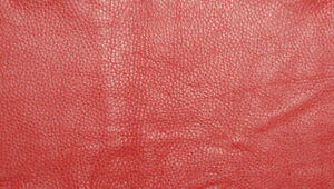Leather Scraps Red Leather offcuts Remnants Sheets Goatskin Sheep