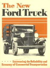 Ford 1932 Truck & Commercial Car Sales Brochure Pick Up