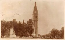 Parliament Buildings Ottawa Ontario ONT 1071 Canadian National Railway Photo