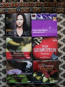 Tess Gerritsen 6 Hörbücher Sammlung davon 5x Rizzoli&Isles