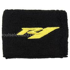 YAMAHA R1 BRAKE RESERVOIR COVER OIL CUP COVER GP SOCK SET YZF 1000 BLACK/YELLOW